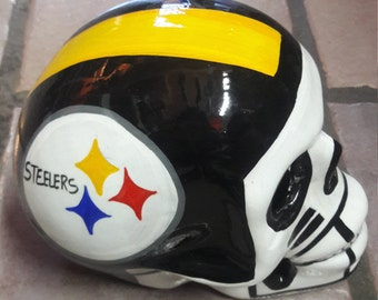 NFL Skull Steelers Free shipping