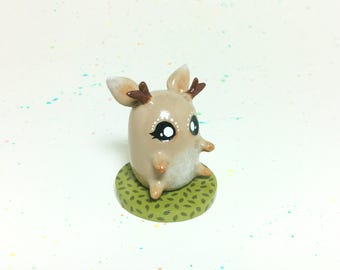 Mini Critter #10 - Forest Deer Figurine
