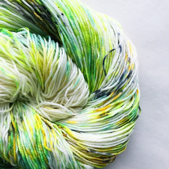 LIZARD hand dyed speckle yarn - limited edition
