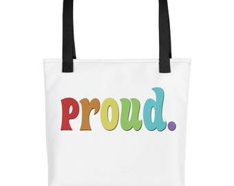 PROUD Pride Tote bag
