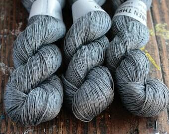 Linen yarn - 4-ply - fingering -- 003