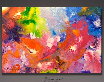 Abstract Painting, Fluid Painting, Original Painting, Acrylic Painting, Expressionism, Fluid Art, Modern Art, large wall art, home decor