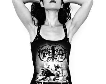 Marduk shirt tank dress black metal clothing alternative apparel altered band tee t-shirt satanic clothing rocker