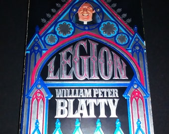 Legion Book by William Peter Blatty Sequel to The Exorcist Horror Paranormal Novel Demonic Possession