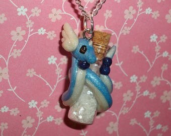 Pokemon - Dragonair with Bottle Charm Necklace