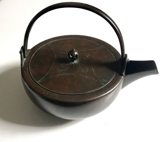 Japanese Meiji Copper Choshi Sake Pot (Sake Warmer)