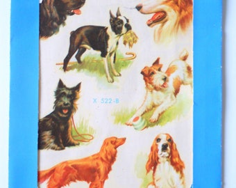 Vintage Meyercord Decals Dogs • Vintage Decal Stickers
