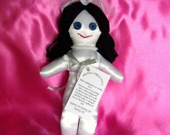 Bride Wedding Stress Doll DAMMIT, DANGIT or DADGUMMIT