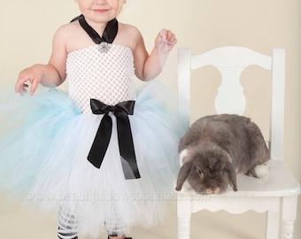 Baby Alice in Wonderland Dress,Alice in Wonderland Toddler Costume,Alice in Wonderland Tutu Dress,Alice in Wonderland Birthday Party Dress