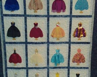 Pageant / Dance Ballet Recital Memory quilt Custom made to order