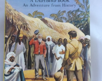 David Livingstone 'An Adventure from History'  (1960) Ladybird book with dust jacket