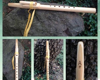Native American Style Flute in Clear Pine, Key of A minor