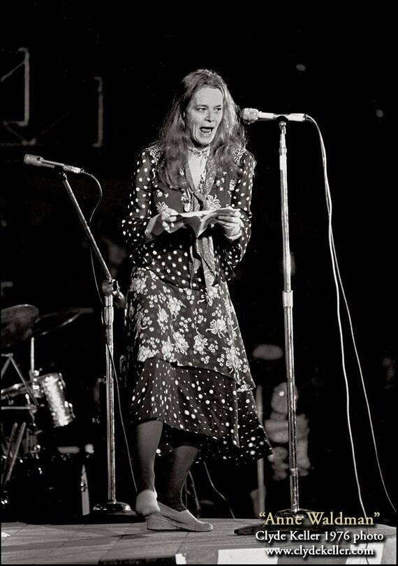 ANNE WALDMAN RECITAL, Kesey Poetical Hoo-Haw, Clyde Keller photo