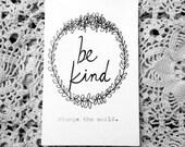 Be Kind Zine