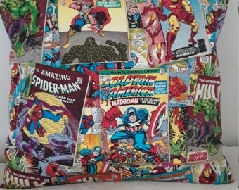 Marvel Comics Pillow Covers 16 x 16 - Set of 2
