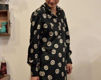 Handmade Black Knee Length Dress - Now 50% Off!!