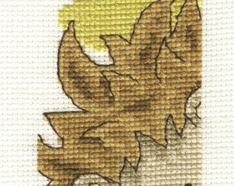 Hedgehog Looking Out Cross Stitch kit from The Fabulous Forest Collection, BK1684, Bookmark cross stitch kit , animal kit, embroidery kit