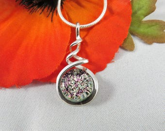 Cremation Jewelry, Pet Loss Jewelry, Pet Keepsake, Pet Ashes Necklace,Pet Memorial, Cremation Necklace,Glass Ashes Necklace,UK Seller, Ref H