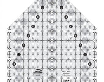 House Ruler - CGRQB1 - Barn Ruler - Creative Grids Quilting Tool - Non-Slip Quilting Ruler
