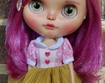OOAK ChassyCat Custom PD Violetina Blythe Doll - Kenzie
