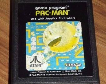 1981 Atari Video Game PAC-MAN