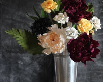 Love is Wild(e) Paper Flower Bundle - Book Paper Flower Bouquet for Valentine's Day