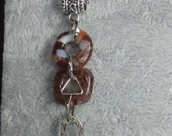 Original glass necklace