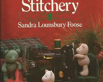 Vintage Scrap Saver's Christmas Stitchery by Sandra Lounsbury Foose