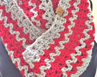 Festive Sparkly Cowl