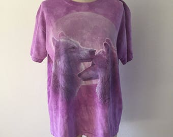 Vintage Wolf T-Shirt - Size Medium