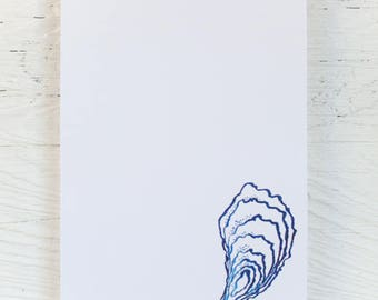 Notepad | Oyster | Nautical Stationery