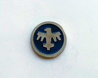 Hand Cast Starship Troopers Infantry Lapel Pin