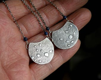 Sterling and Lapis Lazuli Necklace - You Are Loved