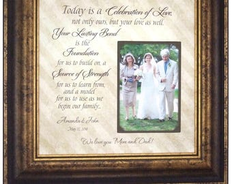 Parents Wedding Gift, Father of The Bride Gift, Mother of The Bride Gift, 16x16