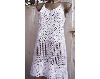 Florence/Firenze Granny Lace Dress or Top - Crochet Pattern - Instant Download Pdf