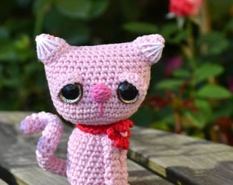 Crochet pattern - Kitty / Cat by VendulkaM - amigurumi/ crochet toy, digital pattern, DIY, pdf