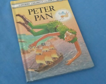 Peter Pan Vintage Ladybird Children's Classics Book Peter - Series 740 - Glossy Covers