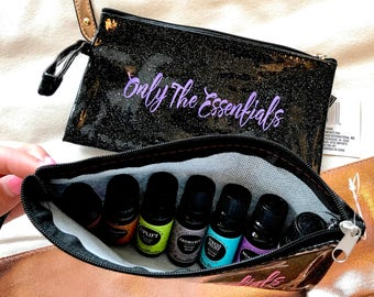 Only the Essentials - Glitter Travel Bag (in 6 colors)