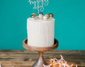 HAPPY DAY cake topper