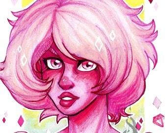 Steven Universe Print Pink Diamond