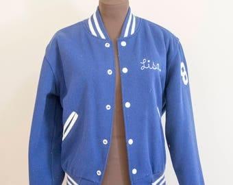 1985 Wynford letterman jacket