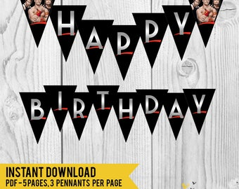 Wwe birthday Etsy