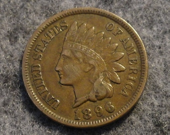 1896 Indian Head Cent- Full LIBERTY