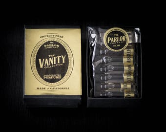 The Vanity Collection Perfume Set - The Parlor Apothecary - 1 ml each