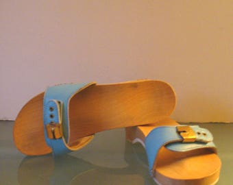 Dr. Scholl Baby Blue Exercise Sandals