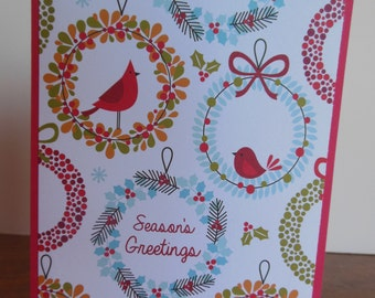 Handmade Christmas Note Cards/ Christmas Cards / Greeting Cards/