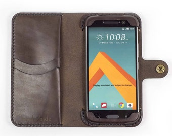 HTC U11 Plus Leather Wallet Case, HTC U11+ case, HTC U11+ wallet, htc U11+ leather case, custom htc U11+ case, leather phone case