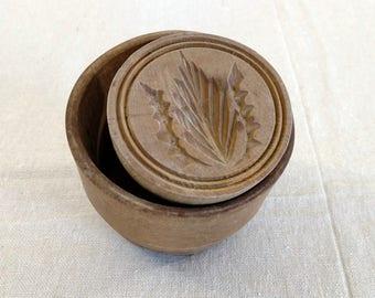 19th Cen. Antique Wooden Butter Mold