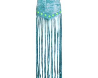Mystic Long Fringe Skirt