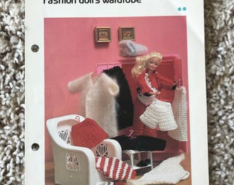 Crochet Barbie Doll Wardrobe Patterns